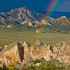 Flaming Rock Rainbow