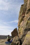 Rock Climbing Photo: Keen Butterworth on Endless Summer. (9+)