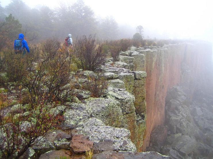 Rock Climbing Photo: Rainy day hike at Sugarite.