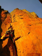 Rock Climbing Photo: Crack from Hell.  (5.10-)