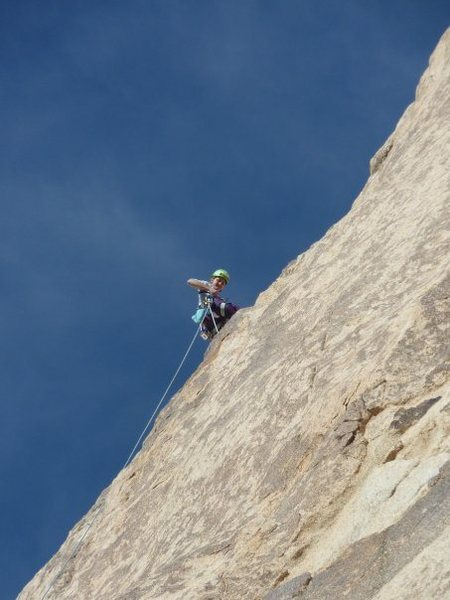 Rock Climbing Photo: Mental Physics on a sunny December day