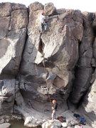 Rock Climbing Photo: the cyclops eye