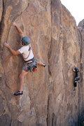 Rock Climbing Photo: Cory at the Sunday Matinee Wall