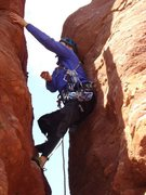 Rock Climbing Photo: Holding another loose rock in my hand - hey wait, ...
