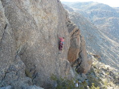 Rock Climbing Photo: Lynne Leichtfuss on Starrbonne.