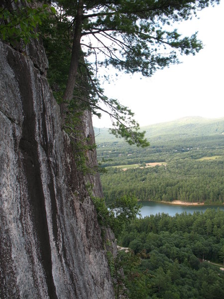 Rock Climbing Photo: That's a view...