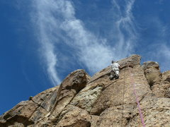 Rock Climbing Photo: Wendall Smith on Funky Fresh.