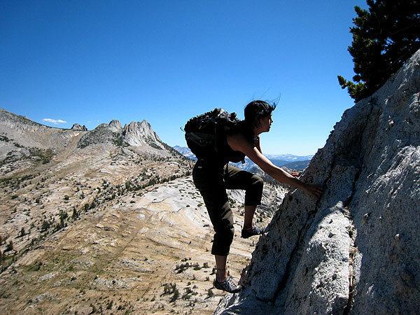 Rock Climbing Photo: SE buttress solo