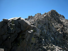 Rock Climbing Photo: final ridge to the summit