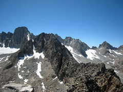 Rock Climbing Photo: Temple-Galey-Sill traverse from Temple Crag