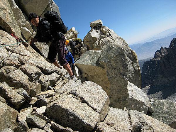 Rock Climbing Photo: t-bolt to starlight traverse