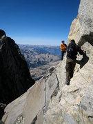 Rock Climbing Photo: jascha en route to starlight
