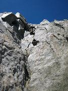 Rock Climbing Photo: jascha on the starlight downclimb