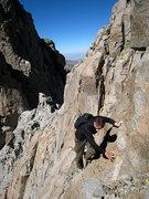 Rock Climbing Photo: traverse to pol