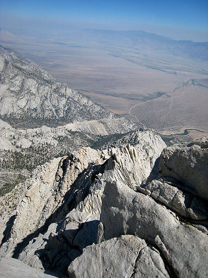 n ridge & the owens valley
