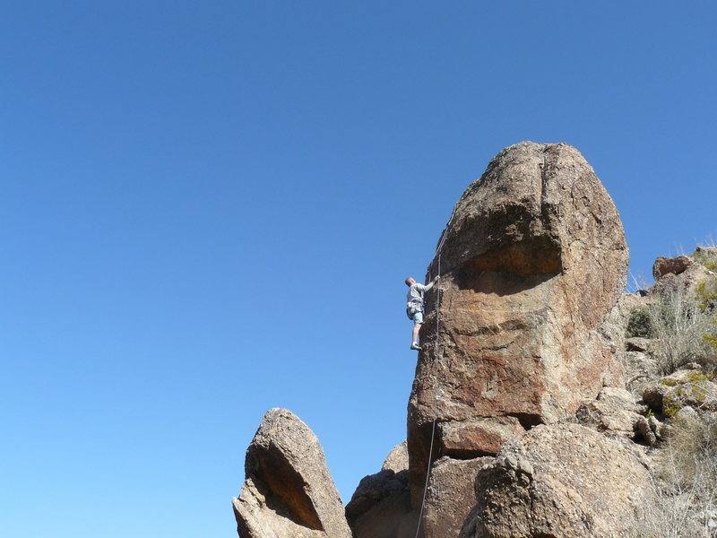 Rock Climbing Photo: The Alien Head