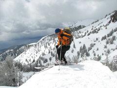 Rock Climbing Photo: Late april skiing in Mt. Rose Wilderness Lake Taho...