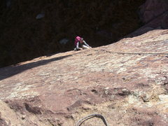 Rock Climbing Photo: A great route on the Third.