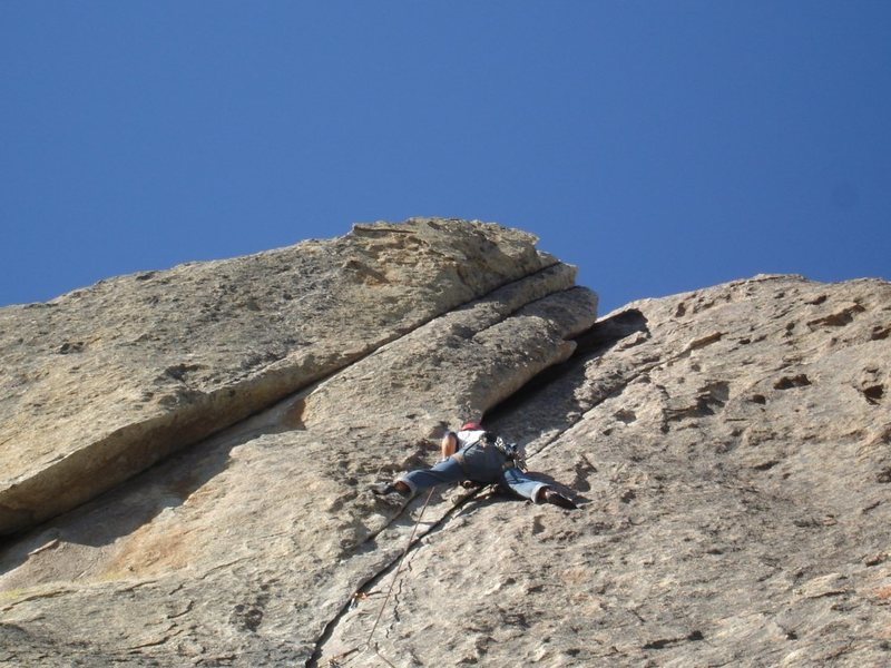 Rock Climbing Photo: Wheat thin