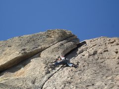 Rock Climbing Photo: Wheat thin