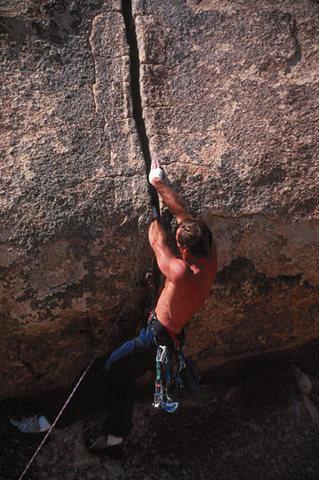 Tony Moser on Trashman Roof