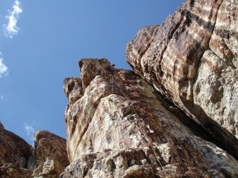 Rock Climbing Photo: Jewls tames Rattlers