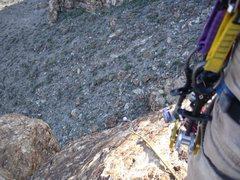 Rock Climbing Photo: Jewls coming up ptch2 Snakeskin