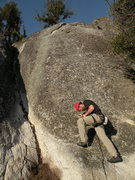 Rock Climbing Photo: Knobelty (10a/b) on the rightmost buttress of West...