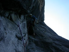 Rock Climbing Photo: Somewhere on Fathom.  Maybe 3rd pitch?