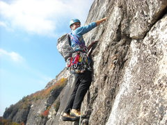 Rock Climbing Photo: Low on New Diversions.