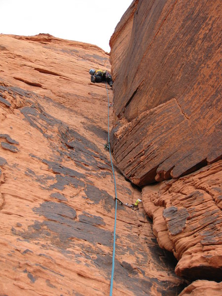 Climbing Cover My Buttress