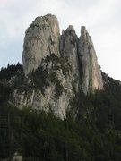 Rock Climbing Photo: Les Trois Pucelles
