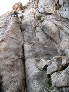 Rock Climbing Photo: The obvious crack.