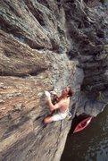 Rock Climbing Photo: susquehanna