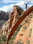Rock Climbing Photo: Take Back the Rainbow 5.10 (8 pitches) - Bridge Mo...