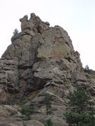 "Rock Climbing Photo: The Sentinel with the ""cross"" very visib..."