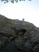 Rock Climbing Photo: Me at the top of Régi Idők.