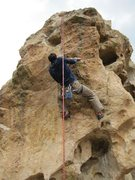 Rock Climbing Photo: Mr. Bob Robinson.