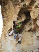 Rock Climbing Photo: Kathryn Adamson rocking it!!
