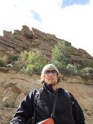 Rock Climbing Photo: Good man.....