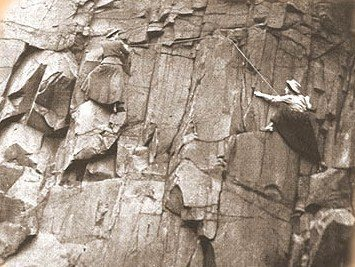 Rock Climbing Photo: How is this guys .. Ladies doing a Girlie Traverse...