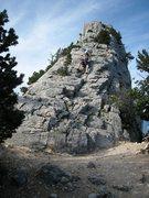 Rock Climbing Photo: Start and finish ramp of the traverse.