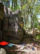 Rock Climbing Photo: Slope!