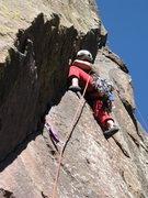 Rock Climbing Photo: Touch and Go - Eldo