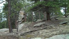 Rock Climbing Photo: Here's your landmark for where to head uphill for ...