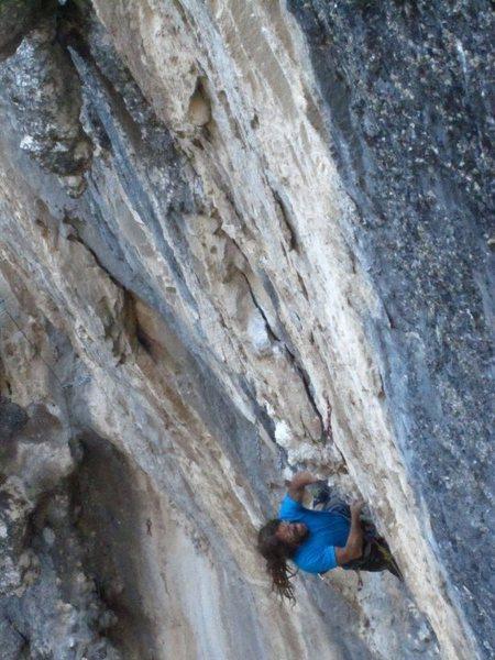 Rock Climbing Photo: moving