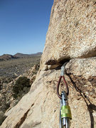 Rock Climbing Photo: passing time on the first belay, waiting for a slo...