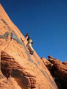 Rock Climbing Photo: Jascha on Ultraman