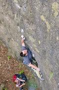 Rock Climbing Photo: Multiple Stab Wounds. Crux - tall people beta. Nat...