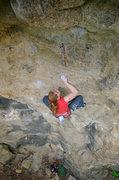 Rock Climbing Photo: Advanced Birding - crux. May, 2010.